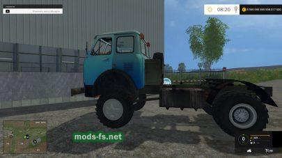 Мод вездехода МАЗ-509