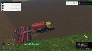 КамАЗ Seeder для Farming Simulator 2015