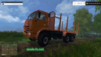 КамАЗ-44118 для работы в лесу