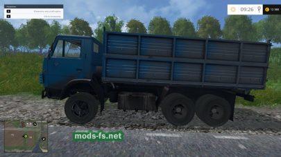 Мод КамАЗ-55102