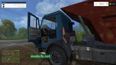 Грузовик для перевозки навоза в FS 2015
