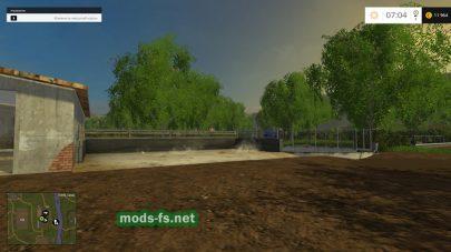 Карта «Комлюко» для Farming Simulator 2015