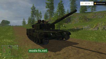 Мод «Leopard 2A4» v1