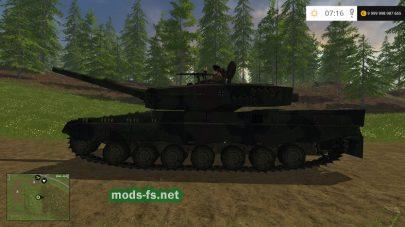 Мод танка Leopard 2A4