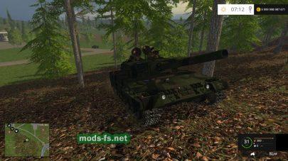 Гусеничный танк для Farming Simulator 2015