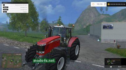 Мод трактора Massey Ferguson 7726
