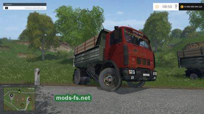 Мод пак МАЗ-5551