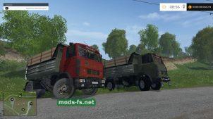 maz-5551 mods