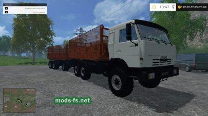 Мод КамАЗ 43118