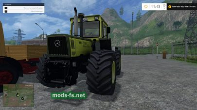 Мод тракторов Мерседес для FS 2015