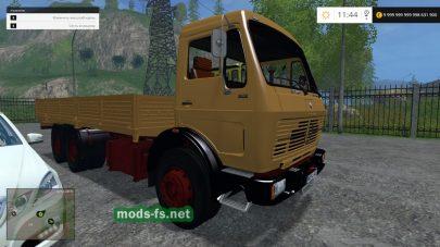 Пак грузовиков Mercedes для Farming Simulator 2015