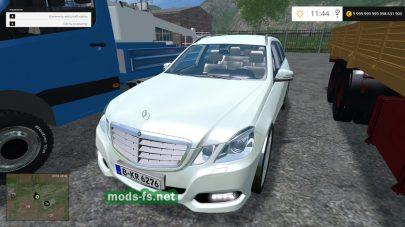Легковые автомобили Мерседес для FS 2015