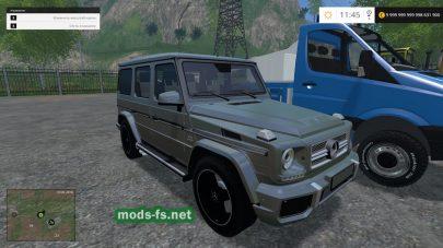 Машины Мерседес для игры FS 2015
