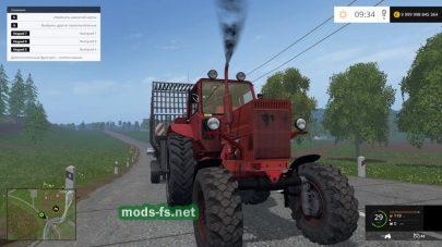 Мод красного трактора МТЗ-82 для FS 2015