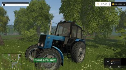 Скриншот мода МТЗ 82.1