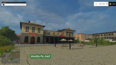 Продажа мяса в игре Farming Simulator 2015