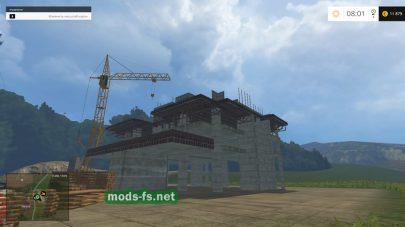Строительство в игре FS 2015