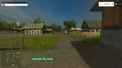 Деревня «Николаевка» в игре FS 2015
