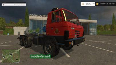 Мод грузовика TATRA 815 для FS 2015