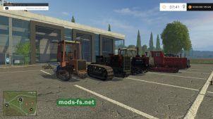 Мод пак гусеничных тракторов для FS 2015