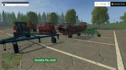 Русские гусеничные трактора для Farming Simulator 2015