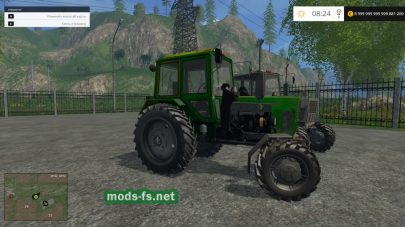 Трактор МТЗ-102 для Farming Simulator 2015