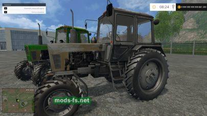 Мод турбированного трактора МТЗ-102 для FS 2015