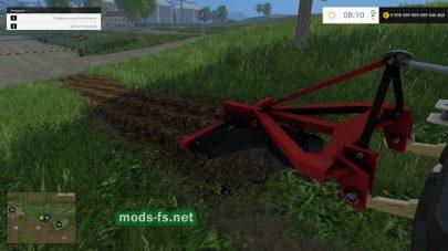 Плуг PLL 1-1 для Farming Simulator 2015