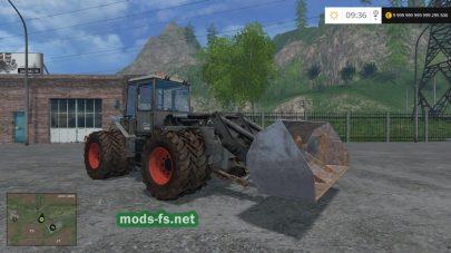 Мод трактора SKODA для Farming Simulator 2015