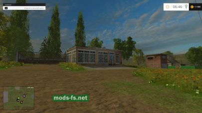Здания на карте «совхоз Заря»