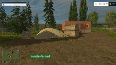 Производство досок в игре Farming Simulator 2015