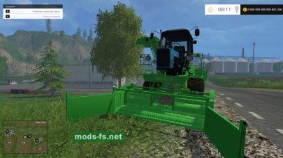 Погрузчик для свеклы в игре Farming Simulator 2015