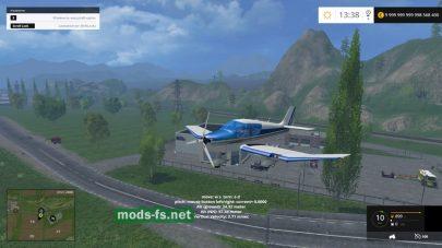 Мод самолета для Farming Simulator 2015