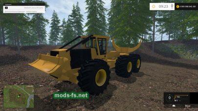 Tigercat 635d Clawbunk для FS 2015
