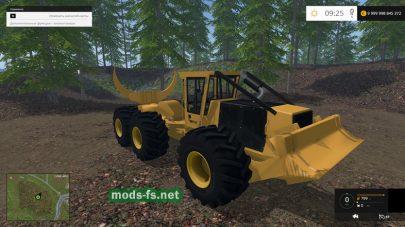 TIGERCAT для перевозки леса в FS 2015