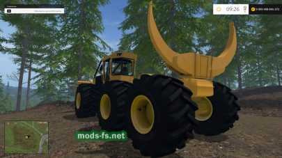 tigercat 635d mods