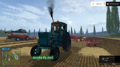 Старый советский трактор ЛТЗ для FS 2015