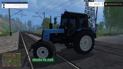 Скриншот мода МТЗ-892