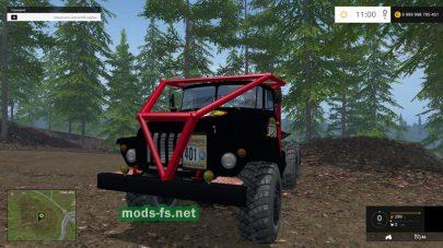 Мод грузовика УРАЛ-375