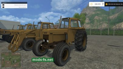 Мод тракторов VALMET для Farming Simulator 2015