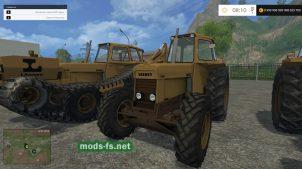 Мод пак тракторов VALMET для игры FS 2015