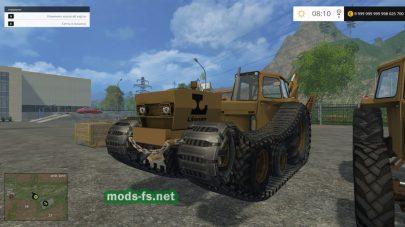 Мод трактора Valmet 700