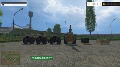 Моды тракторов VALMET 1100 и 1110