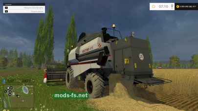 Комбайн VECTOR 410 для Farming Simulator 2015