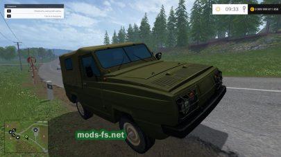 Мод УАЗ-3907