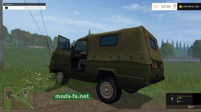 Мод автомобиля УАЗ «Ягуар» для Farming Simulator 2015