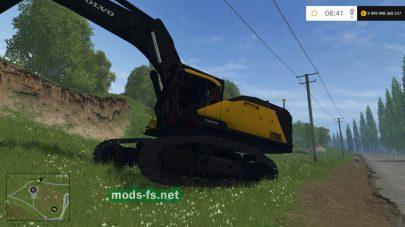 Мод VOLVO EC950E для Farming Simulator 2015