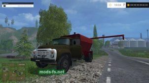 Мод ЗИЛ 130 для перевозки зерна в FS 2015