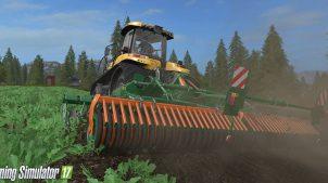 Работа с новой техникой в игре Farming Simulator 2017