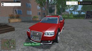 Авто AUDI A6 ALLROAD QUATTRO для Farming Simulator 2015